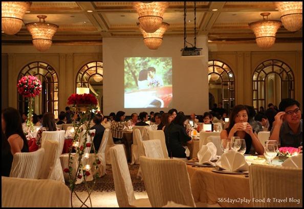 Four Seasons Hotel Wedding Dinner - Side View