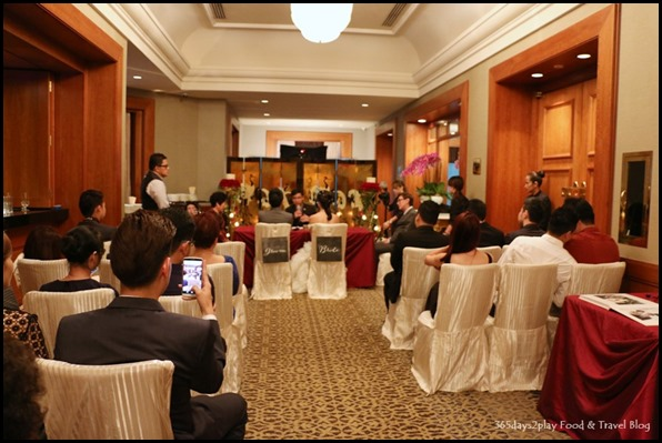 Four Seasons Hotel Wedding Dinner Solemnization