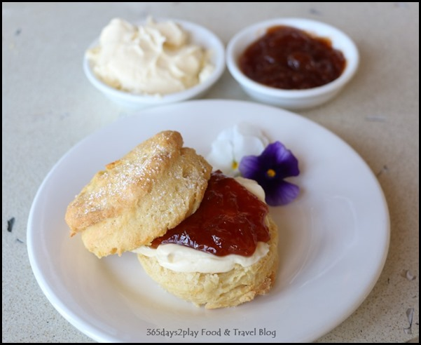 Pullman Bunker Bay Resort - Afternoon Tea scones with jam and cream (3)