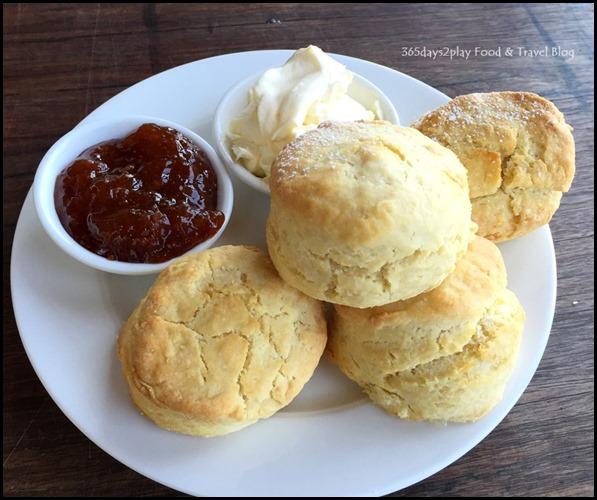 Pullman Bunker Bay Resort - Afternoon Tea scones with jam and cream