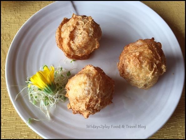 Sze Chuan Court - Fried Beancurd Prawn Dumpling, Celery, Water Chestnut $8.80