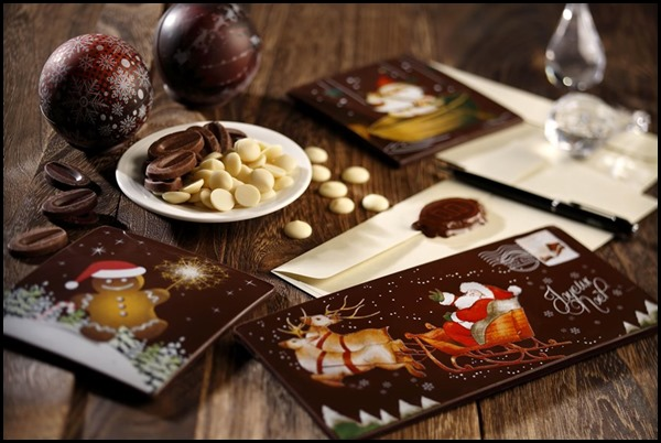 Festive Chocolate Card