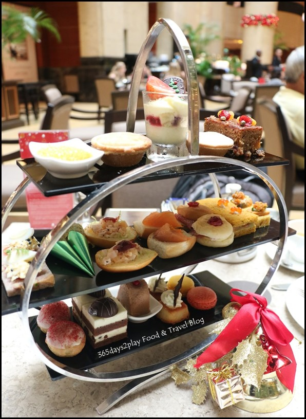 Fullerton Hotel Christmas Afternoon Tea (3)