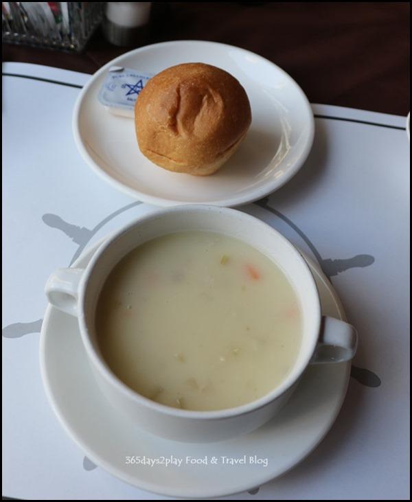 The Ship - Cream of Chicken Barley Soup