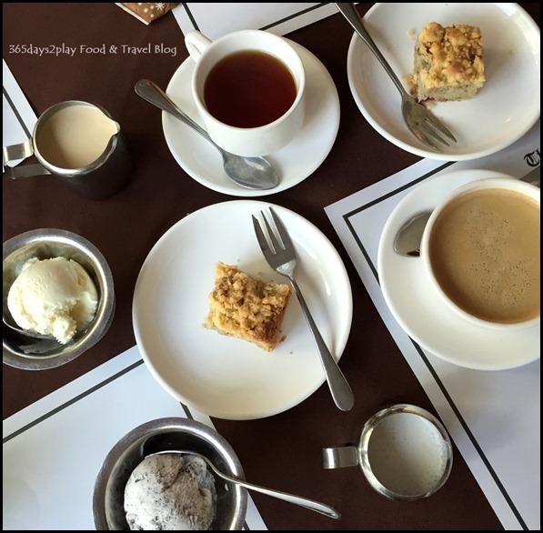 The Ship - Tea Coffee Cake and Ice Cream