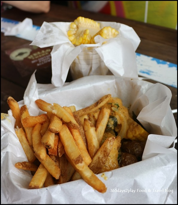 Cajun on Wheels - Fish and Chips with salted egg sauce (2)