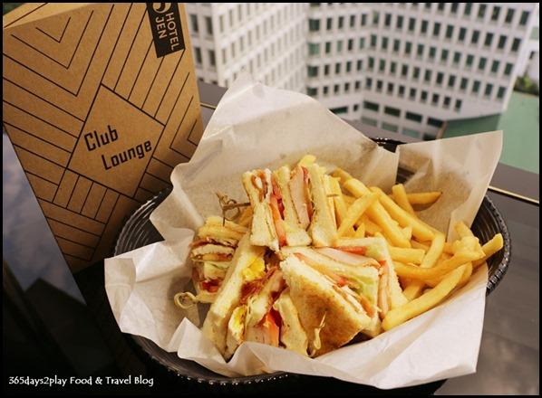 Hotel Jen Tanglin - Club Sandwich