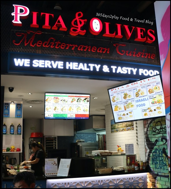 Pasar Bella - Pita and Olives