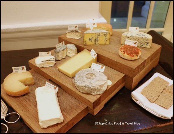 Tiffin Room - Cheese Table