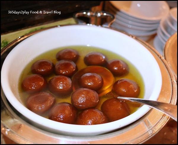 Tiffin Room - Gulab Jamun (Fried Milk Dumpling with Saffron Sugar Syrup)