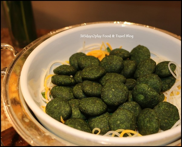 Tiffin Room - Palak Ki Tikki (Deep Fried Spinach Patties with spices)