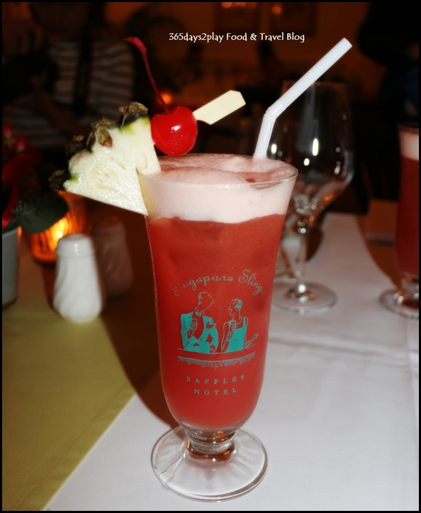 Tiffin Room - Singapore Sling