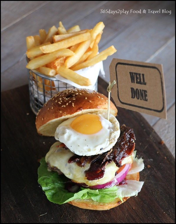 The Chop House - Aussie Burger $24