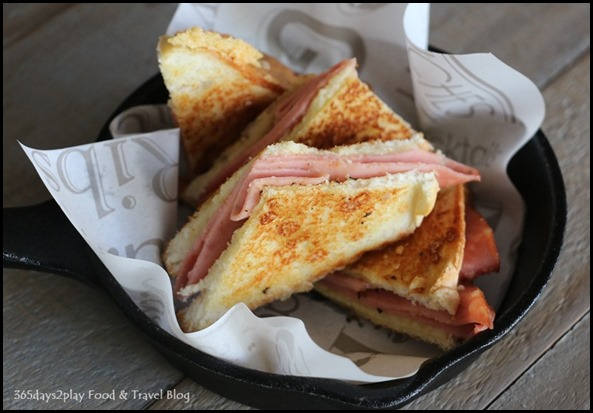 The Chop House - Greasy Ham & Cheese $22