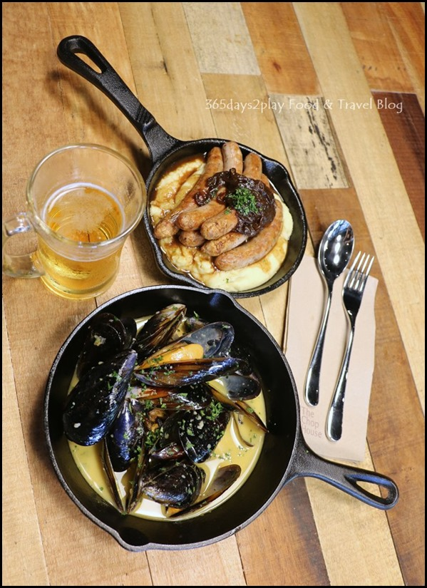 The Chop House - Mussels Mariniere $20