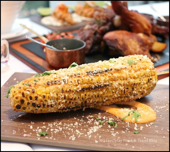 Dallas Restaurant & Bar - Grilled Corn $6