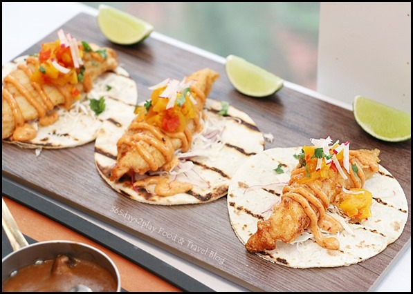 Dallas Restaurant & Bar - Snapper Fish Tacos $22