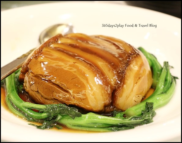 Avenue Joffre - Braised pork belly with preserved vegetables $30