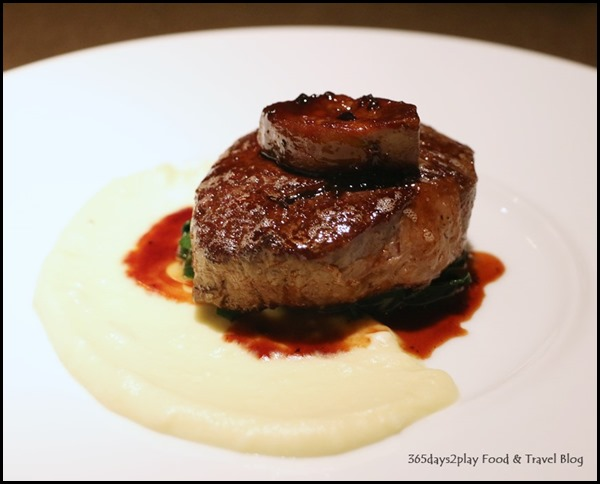 Five Nines - Beef Tenderloin & Foie Gras $29
