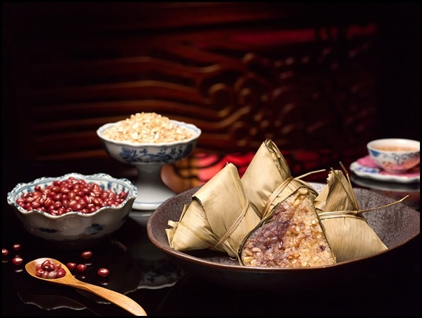 Fragrant Red Bean Dumpling with Multi-Grain Rice