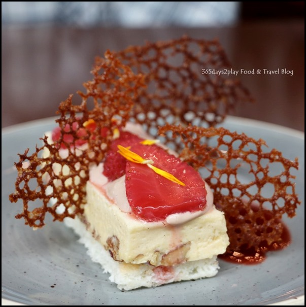 Salt Tapas Bar - Dulce de leche & salted pecan semifreddo, strawberries, wafer - $13
