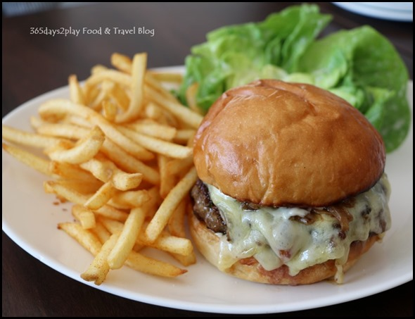 South Union Park - Cheeseburger $22