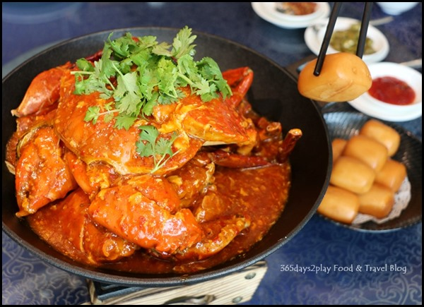 WOK˚15 Kitchen - Chilli Crab $55 per kg (1)