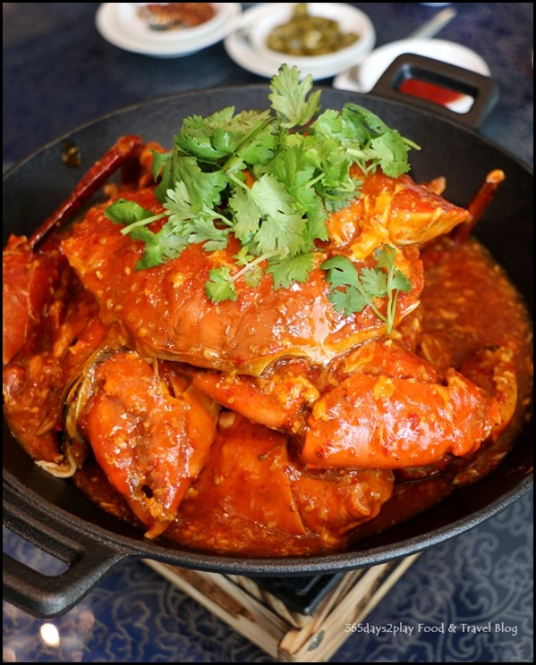 WOK˚15 Kitchen - Chilli Crab $55 per kg (2)