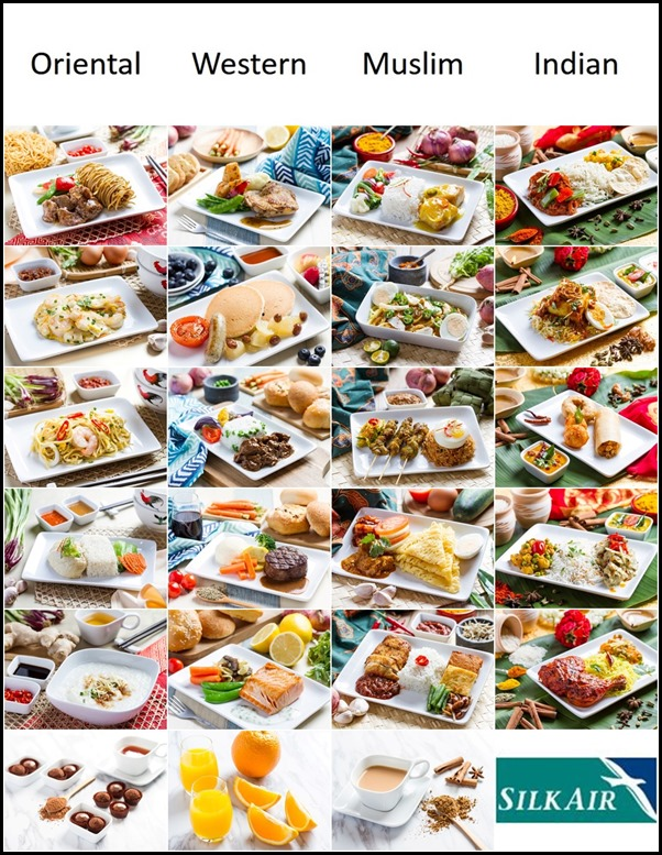 SilkAir All-Time Favourites Dishes (All) 3