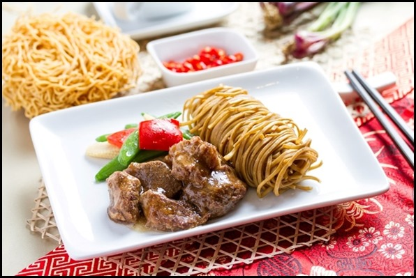 SilkAir All Time Favourites Menu - Beef Brisket