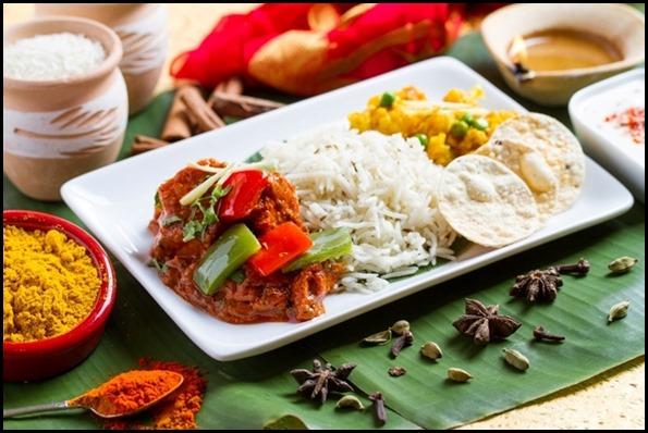 SilkAir All Time Favourites Menu - Chicken Tikka