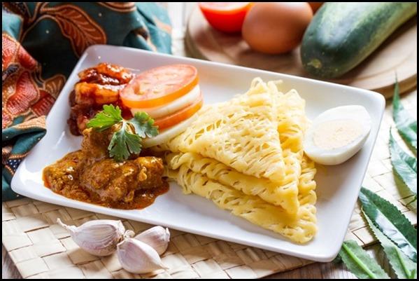 SilkAir All Time Favourites Menu - Roti Jala