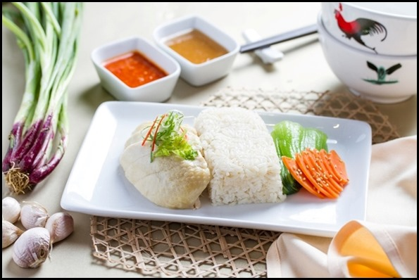 SilkAir All Time Favourites Menu - Singapore Chicken Rice