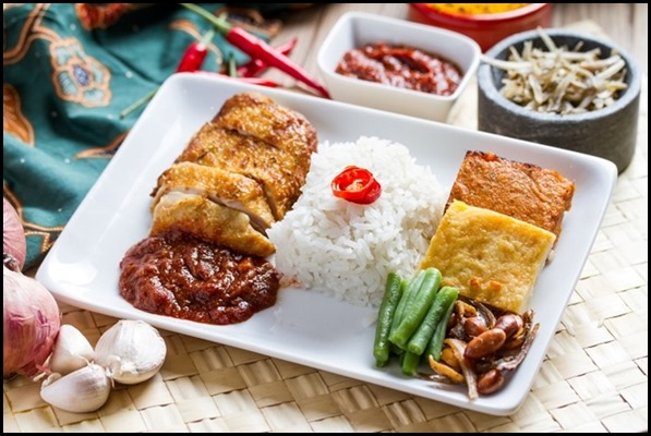 SilkAir All Time Favourites Menu - Singapore Nasi Lemak