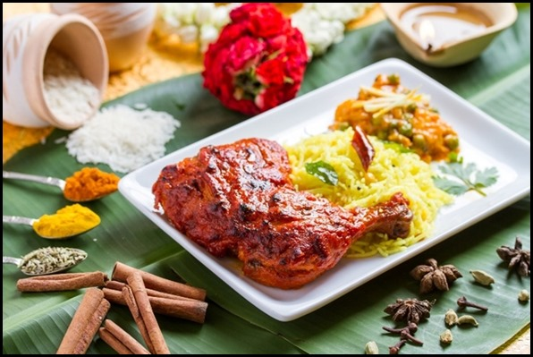 SilkAir All Time Favourites Menu - Tandoori Chicken