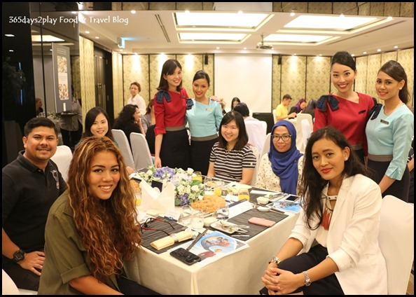 SilkAir Media Tasting Session