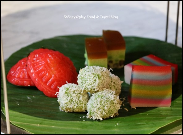 Grand Copthorne Waterfront Afternoon Tea Nyonya Kueh