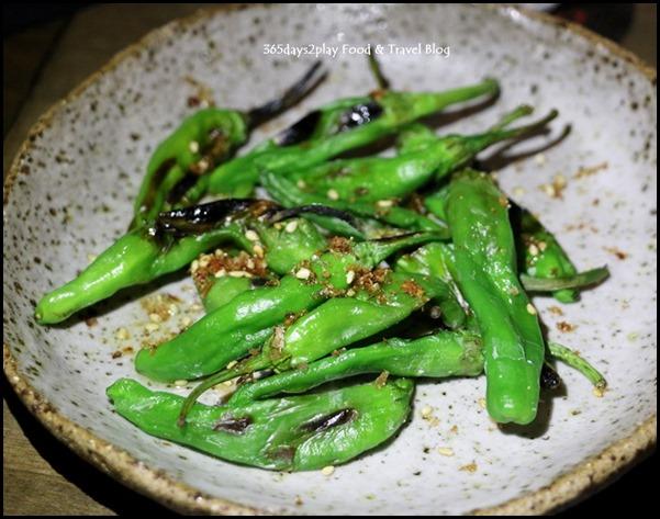 Le Binchotan - Shishito (Bonito, Sea Salt) $9