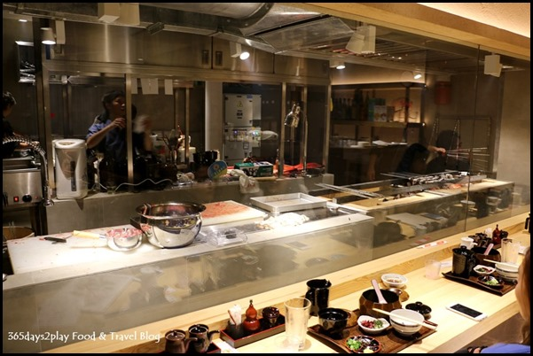 Man Man Japanese Unagi Restaurant See Though Kitchen