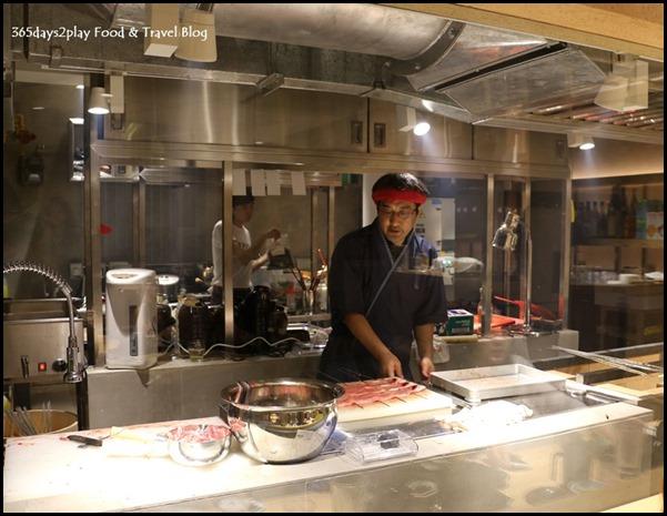 Man Man Japanese Unagi Restaurant See Through Kitchen