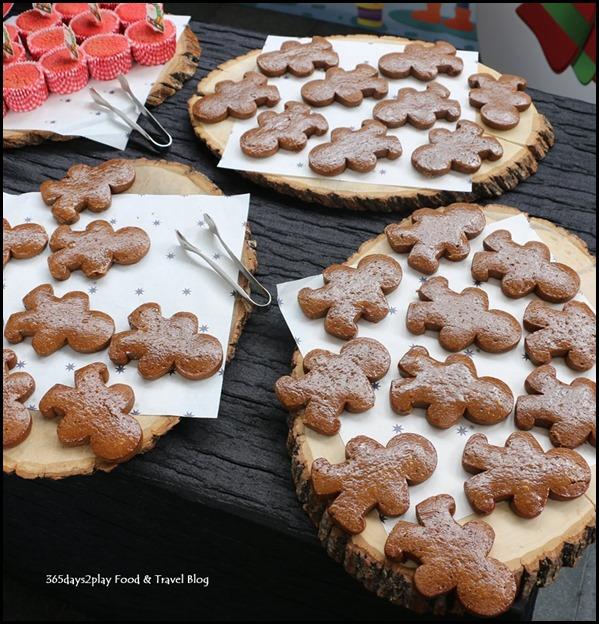 Capella Festive Afternoon Tea Gingerbread Men