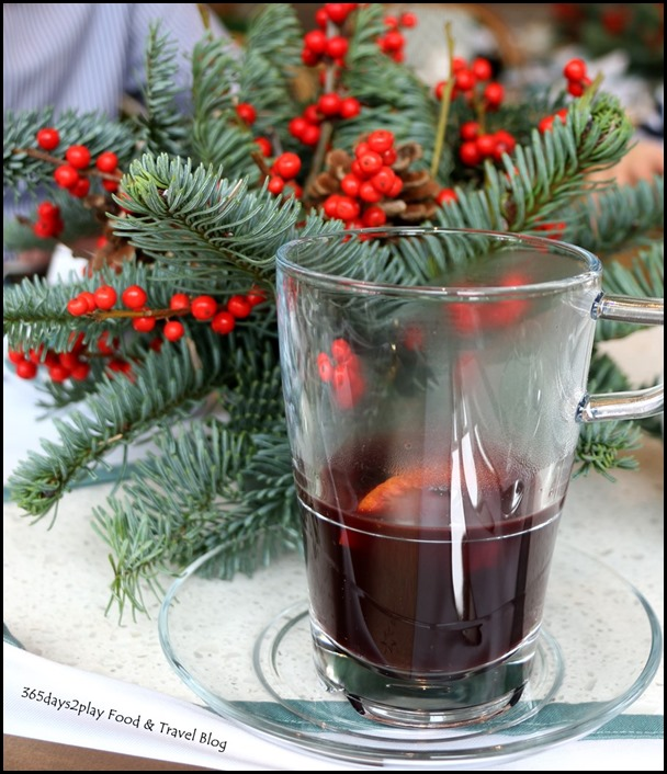 Capella Festive Afternoon Tea Mulled Wine
