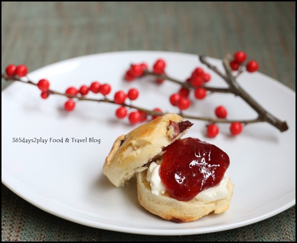 Capella Festive Afternoon Tea Scones