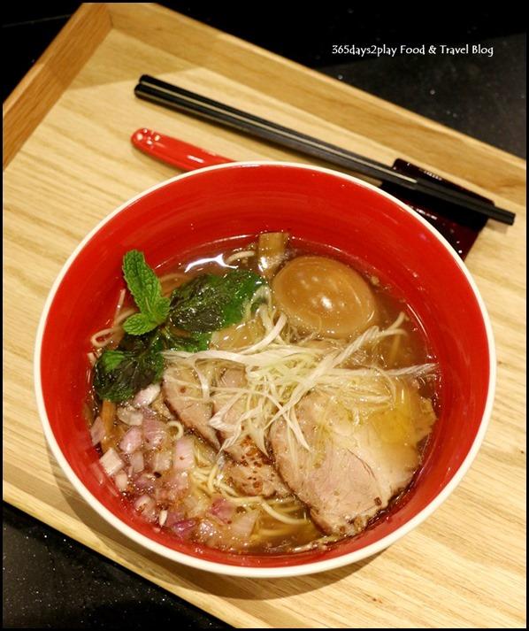 Tsuta Singapore Char Siu Ajitama Shio Soba $22.80  (2)