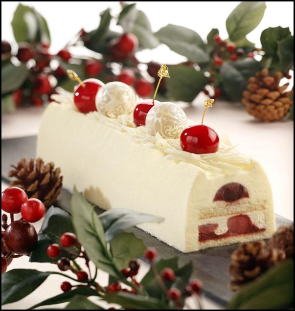 Cherry & Hokkaido Cream Fairy Tale Log