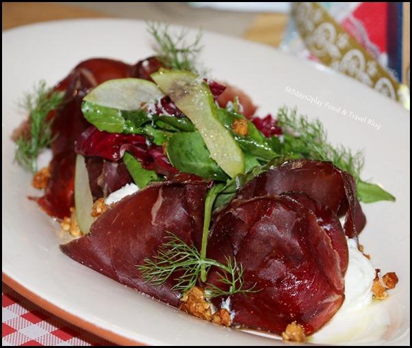 Jamie's Italian Christmas - Bresaola Salad