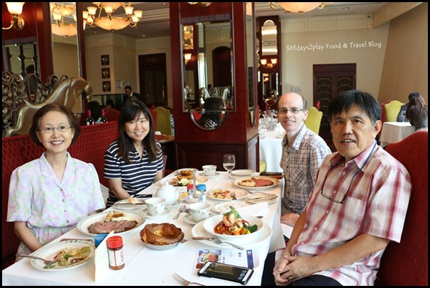 Lawry's The Prime Rib Family Lunch