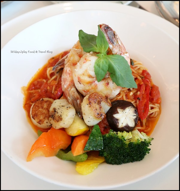 Lawry's The Prime Rib - Seafood Pasta $38