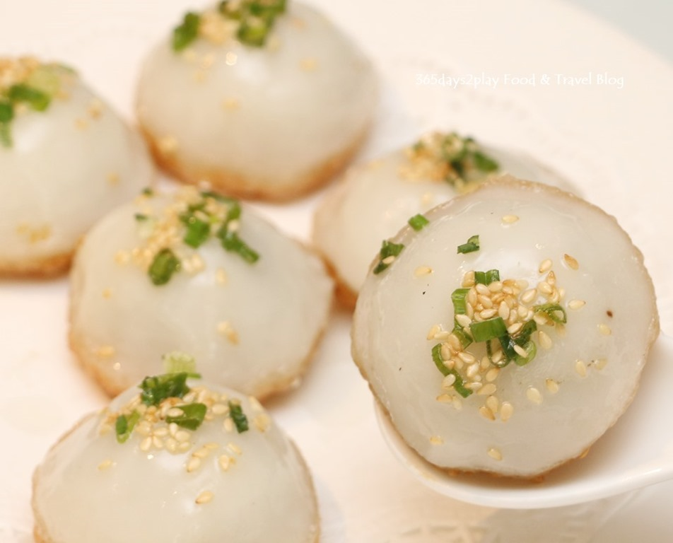 how to make fried glutinous rice balls