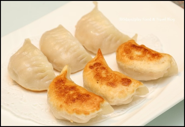 Avenue Joffre - Pan-fried dumplings with sea cucumber, prawn & pork